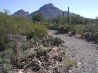 Trail to Old Tucson