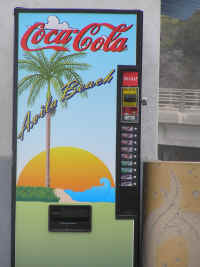 We're seeing a lot of these themed soft drink machines around