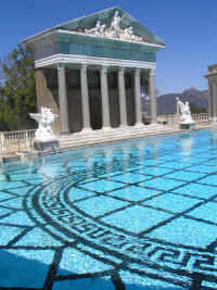The world-famous Neptune pool