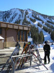 Mt. Rose ski area is a favorite of Reno locals, being close by and having some pretty challenging terrain.