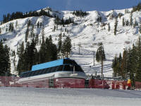 Alpine Meadows in December.