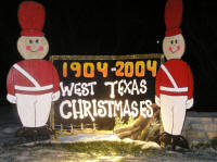 "That's Christmas here in West Texas, not ""holiday."""